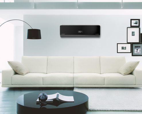 Fujiplus in moderne woonkamer